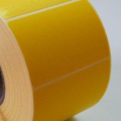 58×38 mm Sárga Thermo normál Eco mérlegcímke